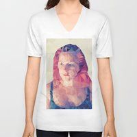wasted rita V-neck T-shirts featuring Rita by Luis Marques