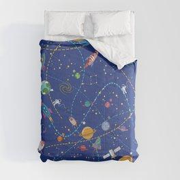 Space Rocket Pattern Comforters