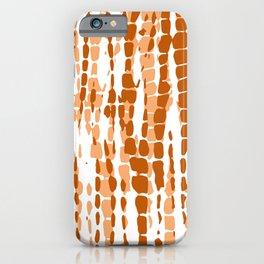 Tie Dye Lines iPhone Case