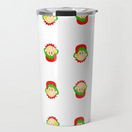 Christmas Elves Travel Mug