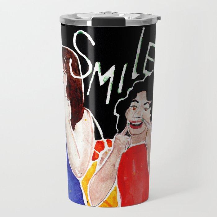 (Broad City) SMILE Travel Mug