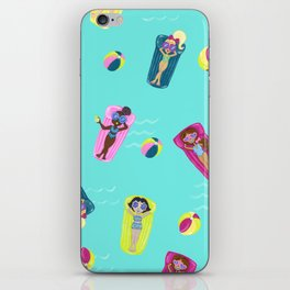 Pool Party iPhone Skin