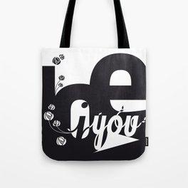 I Love You 3 Tote Bag