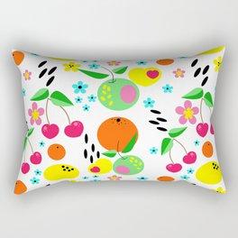 Fruity summer . Rectangular Pillow