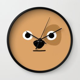 Dog Face Wall Clock