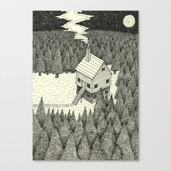 'The Middle Of Nowhere'  Canvas Print
