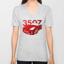 Nissan 350Z - classic red - Unisex V-Neck