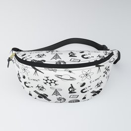 Symbols of Science Fanny Pack