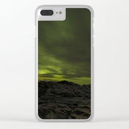 Northern lights 2 Clear iPhone Case