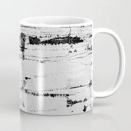 Distressed Grunge 102 in B&W INVERSE Coffee Mug