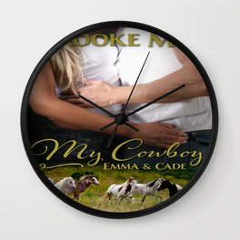 My Cowboy Wall Clock