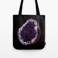 geode Tote Bags featuring Geode by splendidhand