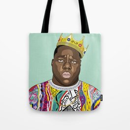 Biggie, notorious BIG Tote Bag