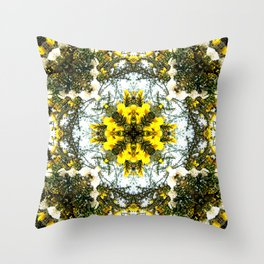 Beauty Among Thorns Throw Pillow