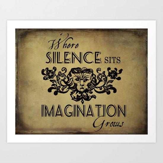 Where Silence Sits Art Print