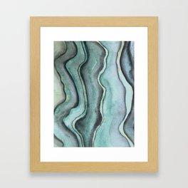 Layers 2 Framed Art Print