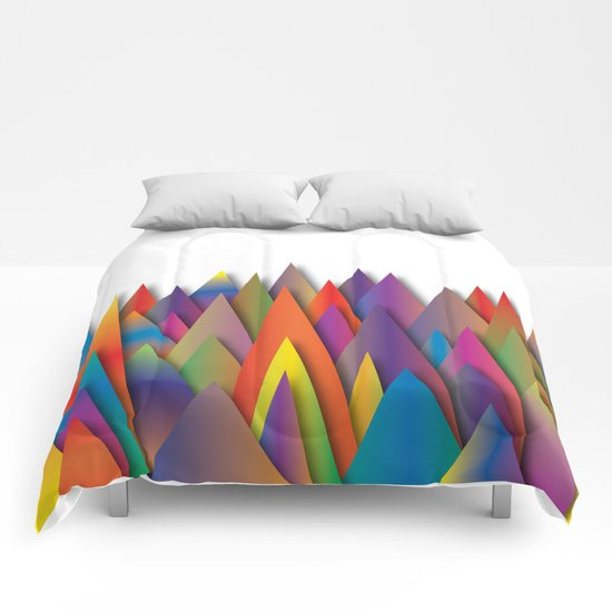 Mountains Of Harmoni Comforters
