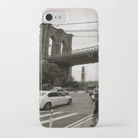 brooklyn bridge iPhone & iPod Cases featuring Brooklyn Bridge by Grace