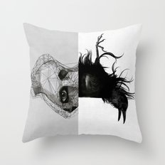 Everything in its right place Throw Pillow