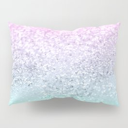 Mermaid Girls Glitter #1 (2019 Pastel Version) #shiny #decor #art #society6 Pillow Sham