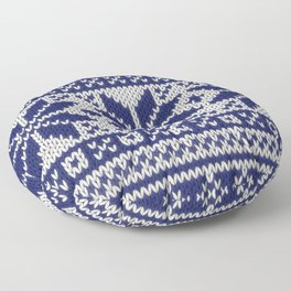 Winter knitted pattern 5 Floor Pillow