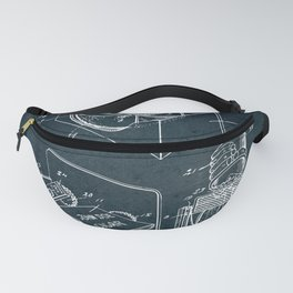 Dice throwing device Fanny Pack