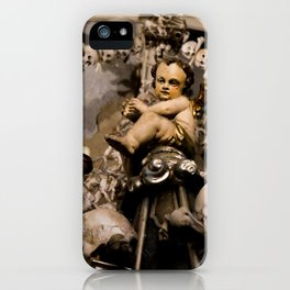 in the midst of life we are in death et cetera iPhone Case