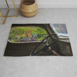 Window in Time Rug
