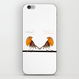 Twittering iPhone Skin