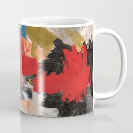 Abstract Expressionism Painting Coffee Mug