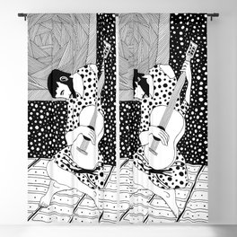 Picasso - The Old Guitarist Blackout Curtain