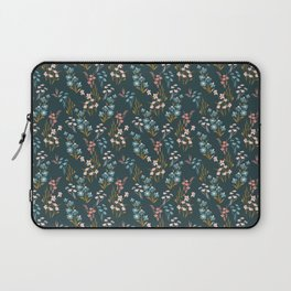 sweet blue floral Laptop Sleeve