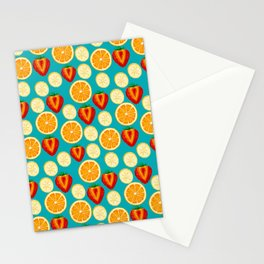 Fruit Explosion spaced by Keyton Design Stationery Cards