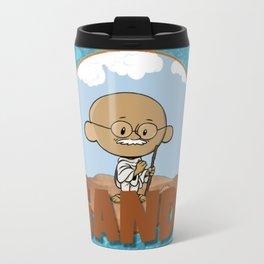 Lil Big Head Gandi Travel Mug