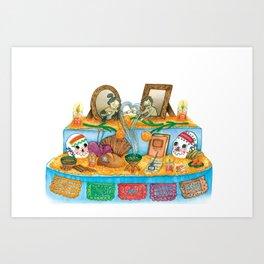 El Altar de Muertos Art Print