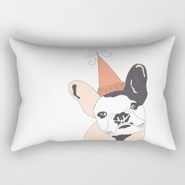 FrenchBulldogBday Rectangular Pillow