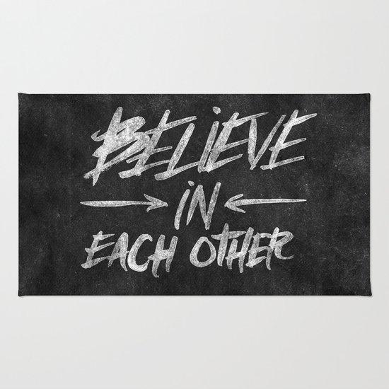 Take Care Of Each Other: Take Care Of Each Other, Part 3 Rug By Josh LaFayette