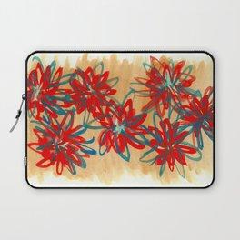 Painted Flowers Laptop Sleeve