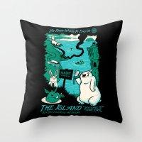 namaste Throw Pillows featuring Namaste by jublin