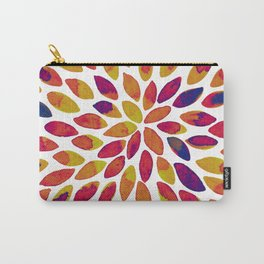 Watercolor brush strokes - multicolor Carry-All Pouch