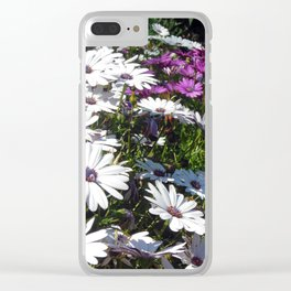 Daisy Weather Clear iPhone Case
