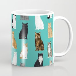 Cat lover must have gifts for cat ladies cat men kitty cats Coffee Mug