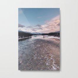 Icefields Parkway, AB IV Metal Print