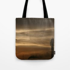 city scape Tote Bag