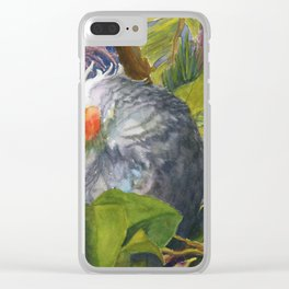 Forty Winks Clear iPhone Case