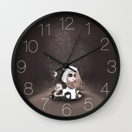 Find the place you call home among the stars Wall Clock