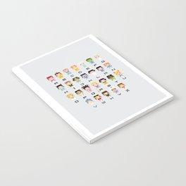 Princess Alphabet Notebook