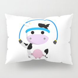 TeeTee - The Aerobic Cow #02 Pillow Sham