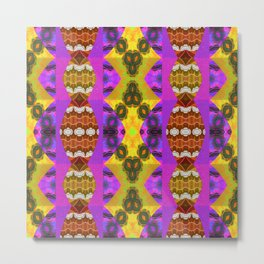 The Psychedelic Sophisticate Metal Print