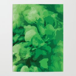 8 Colors - Green Poster